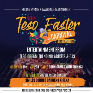 Teso Easter carnival